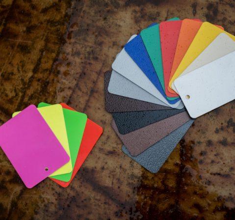 Farbauswahl für die Oberflächenbehandlung